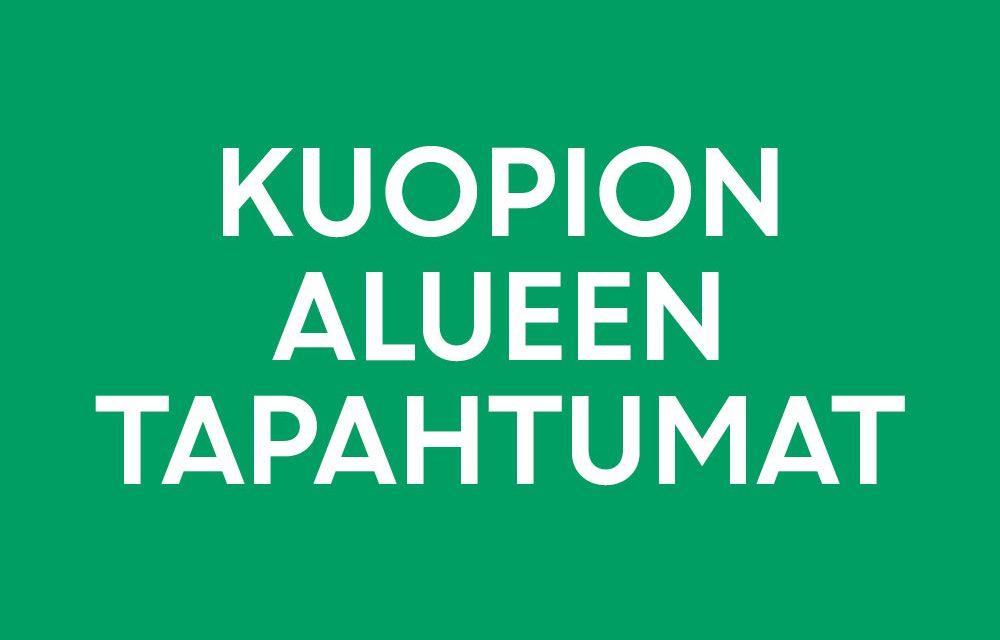Kuopion alueella järjestetään ympäri vuoden paljon tapahtumia