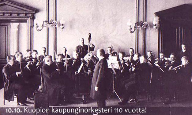 110-vuotiaan Kuopion kaupunginorkesterin kausikonserteissa luodaan uutta ja vaalitaan perinteitä