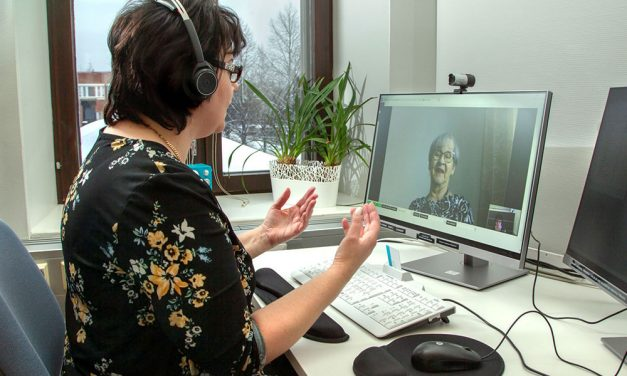 Virtuaalinen kotikäynti arjen tukena