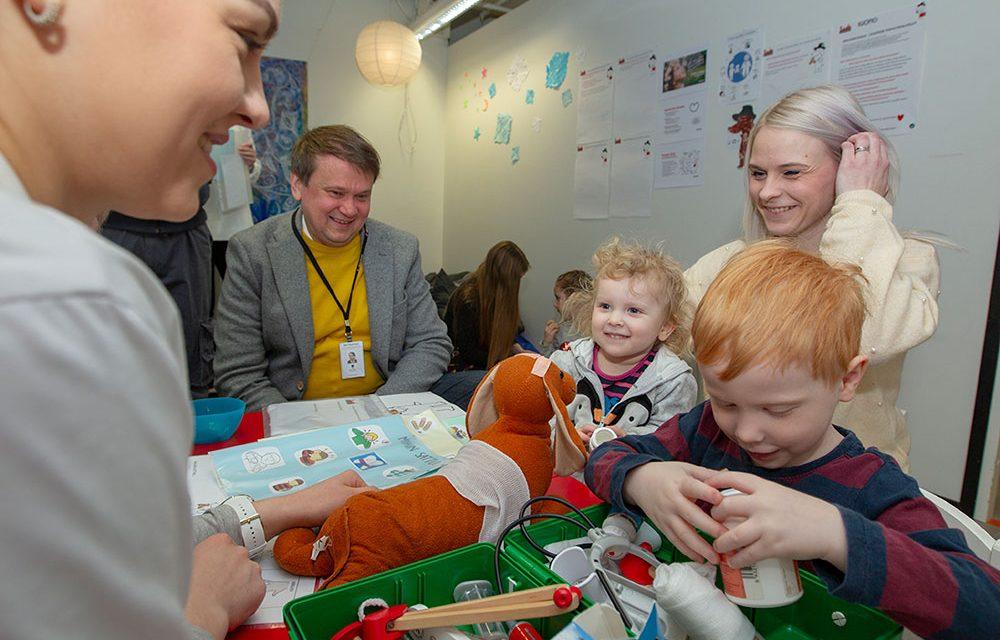 Lapsiperheet ja apulaiskaupunginjohtajat suunnittelivat yhdessä unelmien Kuopiota