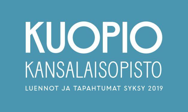 Kuopion kansalaisopiston luennot ja tapahtumat syksy 2019