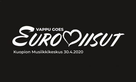 Vappuaattoa vietetään Kuopion Musiikkikeskuksessa euroviisutunnelmissa