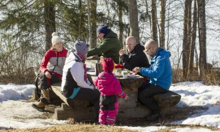 Talvilomaviikoilla nautitaan luonnosta, liikunnasta ja hyvästä olosta