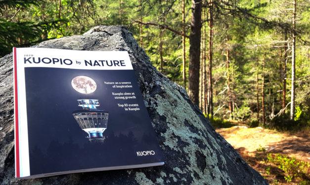 Uusi vuosijulkaisu Kuopio by Nature on kuopiolaisten käyntikortti