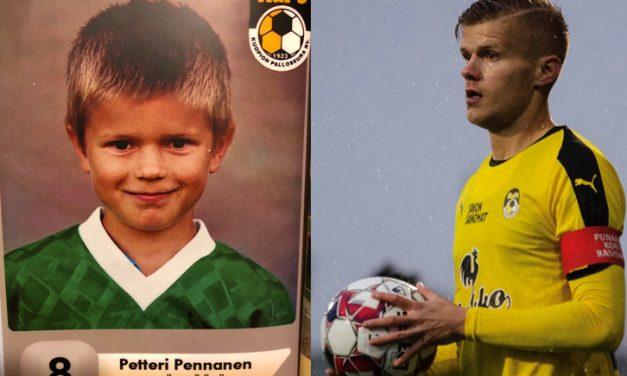 """KuPSin kasvatti Petteri Pennanen muistelee ensihetkiään joukkueessa: """"Nykyisin olen kiitollinen, että olen pystynyt harrastamaan pienestä pitäen."""""""