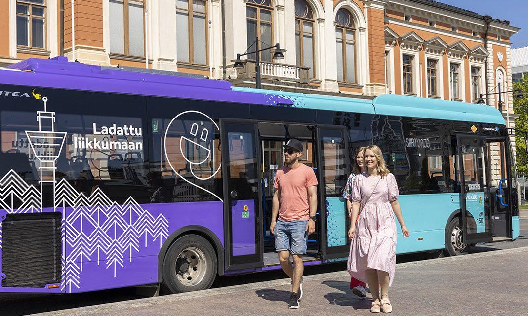 Kuopion uudet sähköbussit – ladattu liikkumaan