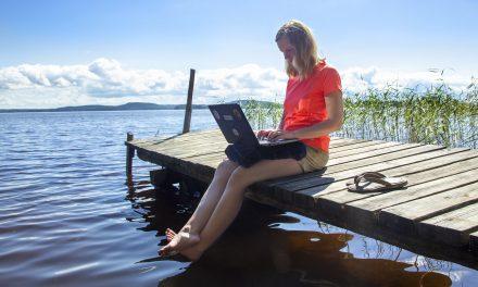 Työskentele globaalisti, nauti elämästä paikallisesti