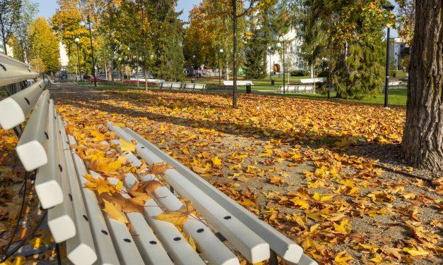 Syystunnelmia Kuopion kansallisessa kaupunkipuistossa